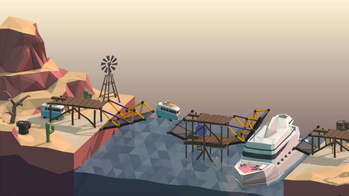 Poly Bridge Game Play Review