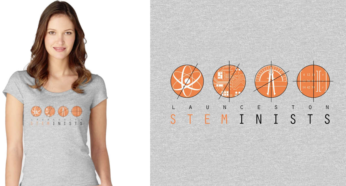 Women's Fitted Scoop T-Shirt by STEMinist