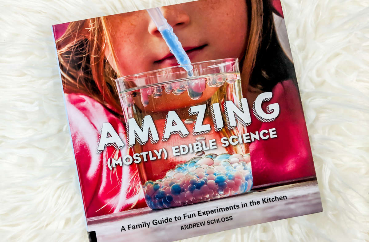 Amazing (Mostly) Edible Science by Andrew Schloss