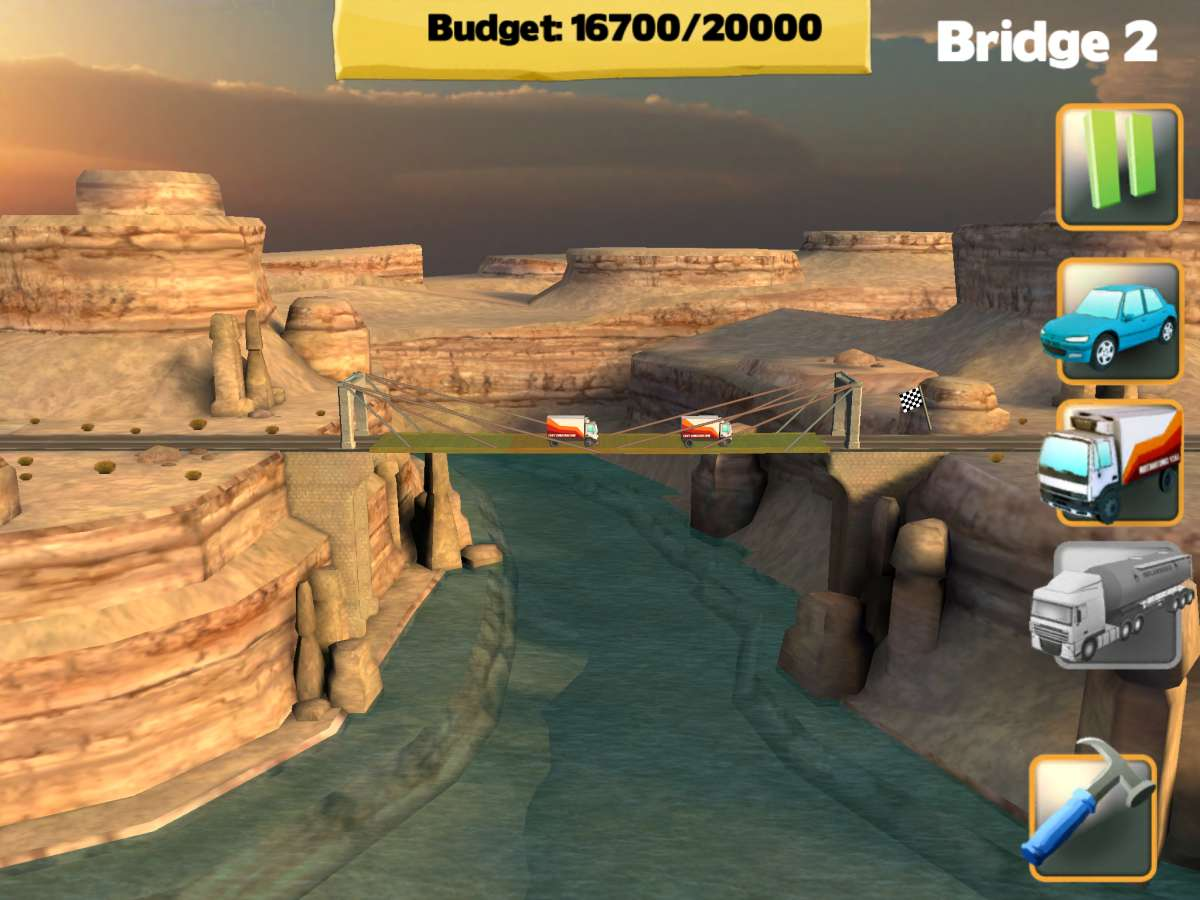 Bridge Constructor Play View