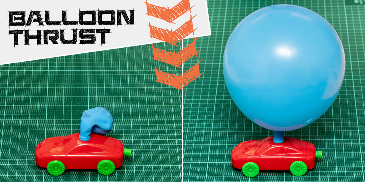 How Balloons Create Thrust