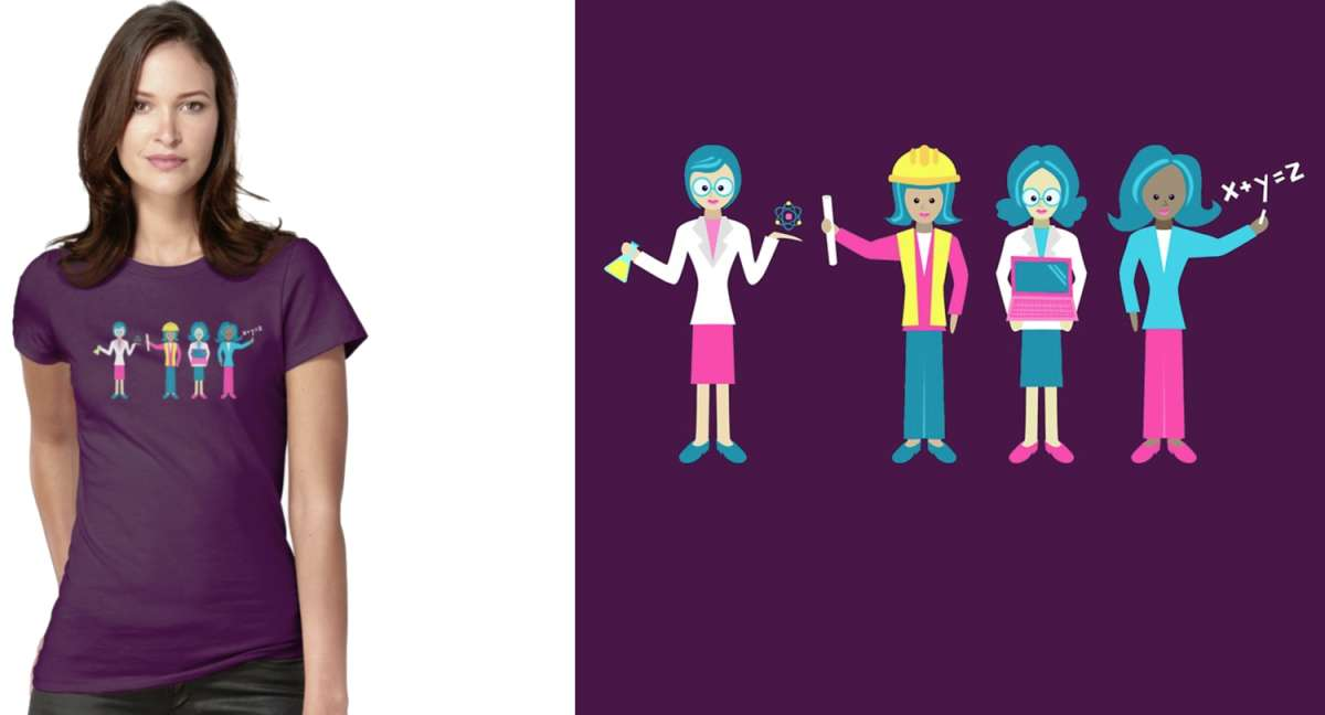 Sisterhood of STEM T-Shirt