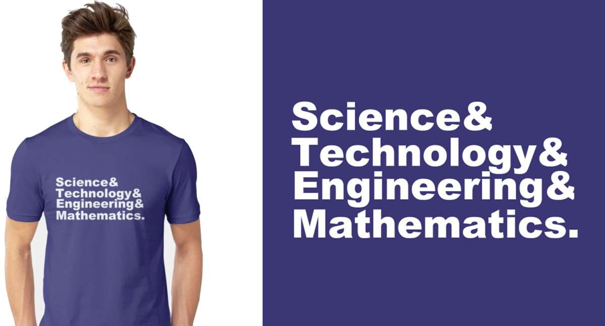 Science Technology Engineering And Mathematics T-Shirt
