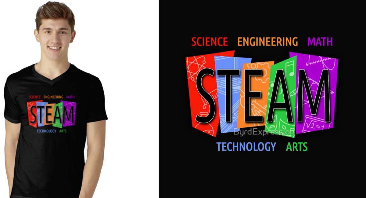 STEAM Education Tshirts