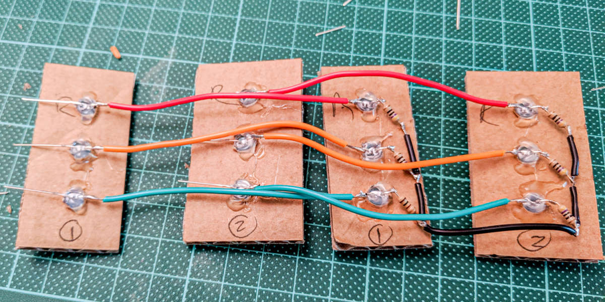 LED Wiring for Arduino Traffic Lights