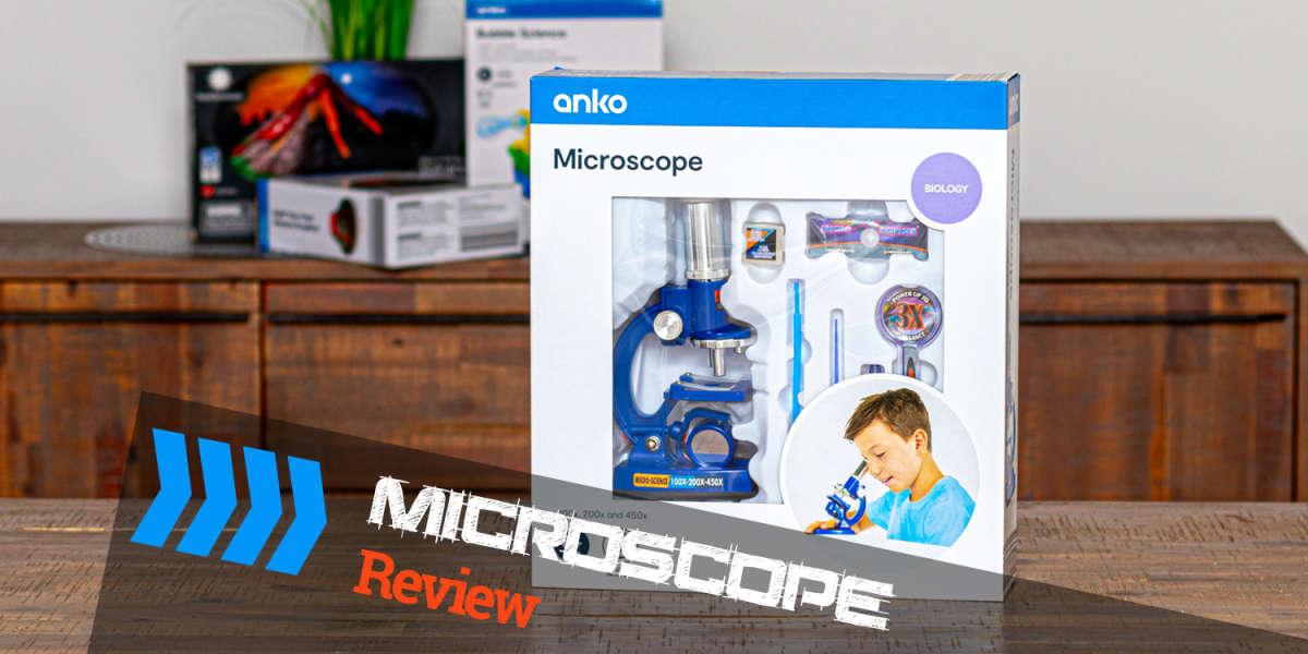 Kmart Microscope Review - Anko