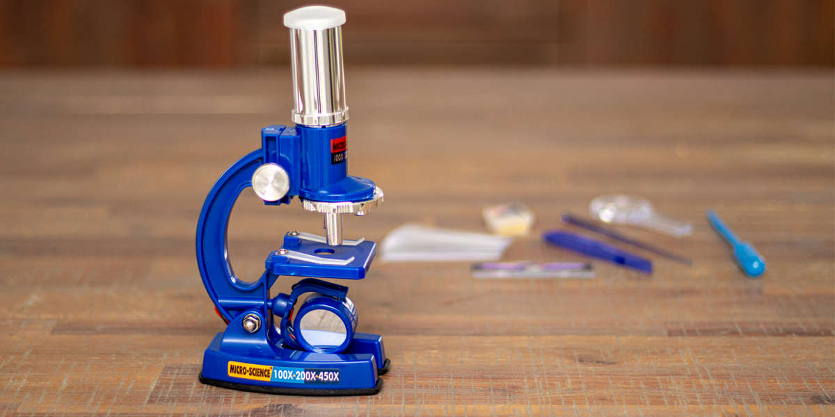 Unboxed Kmart Microscope by Anko