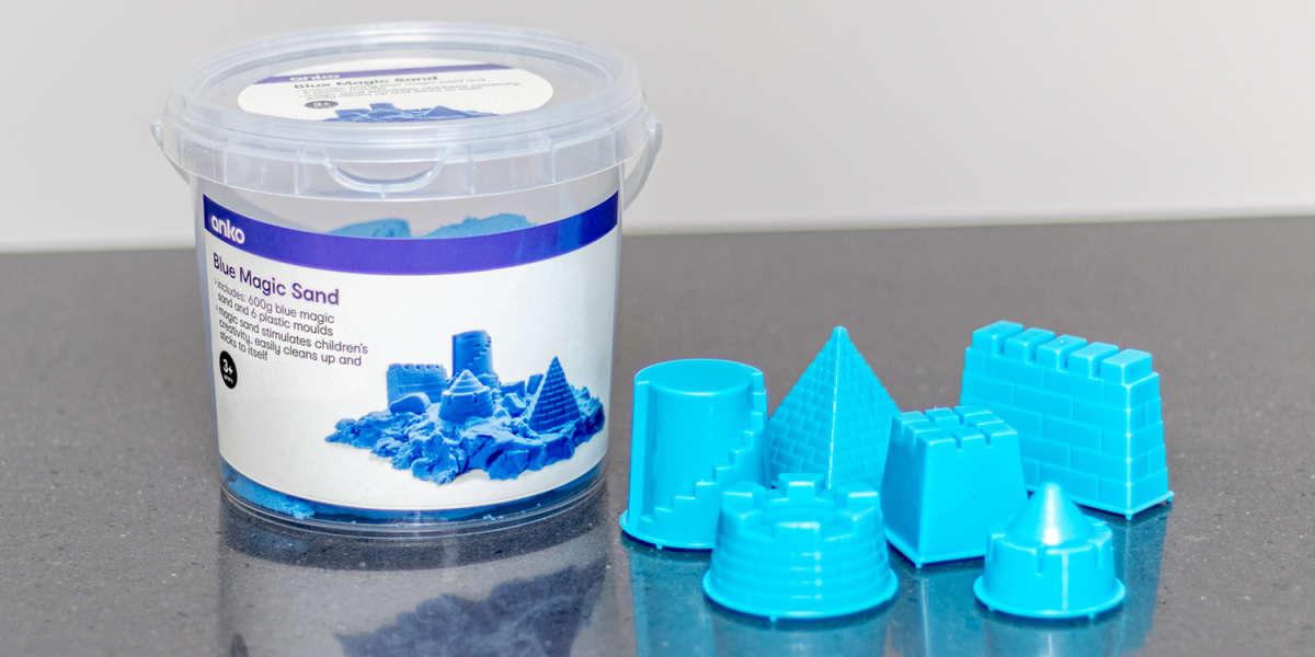Anko Magic Sand Bucket and Shapes