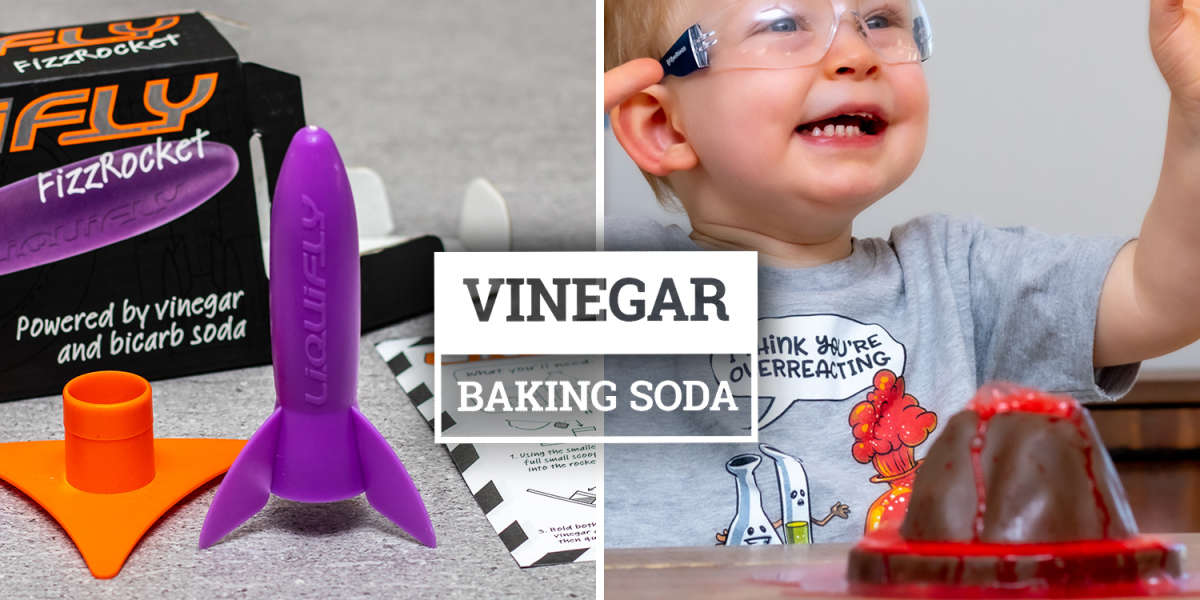 Vinegar & Baking Soda Activities for Kids