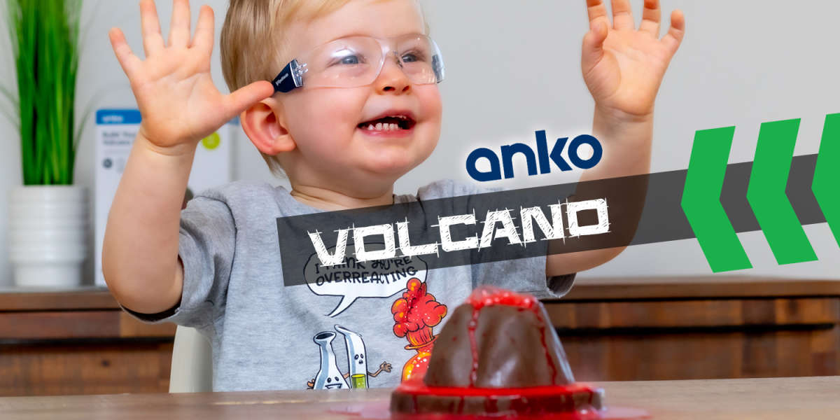Anko Volcano Baking Soda Toy