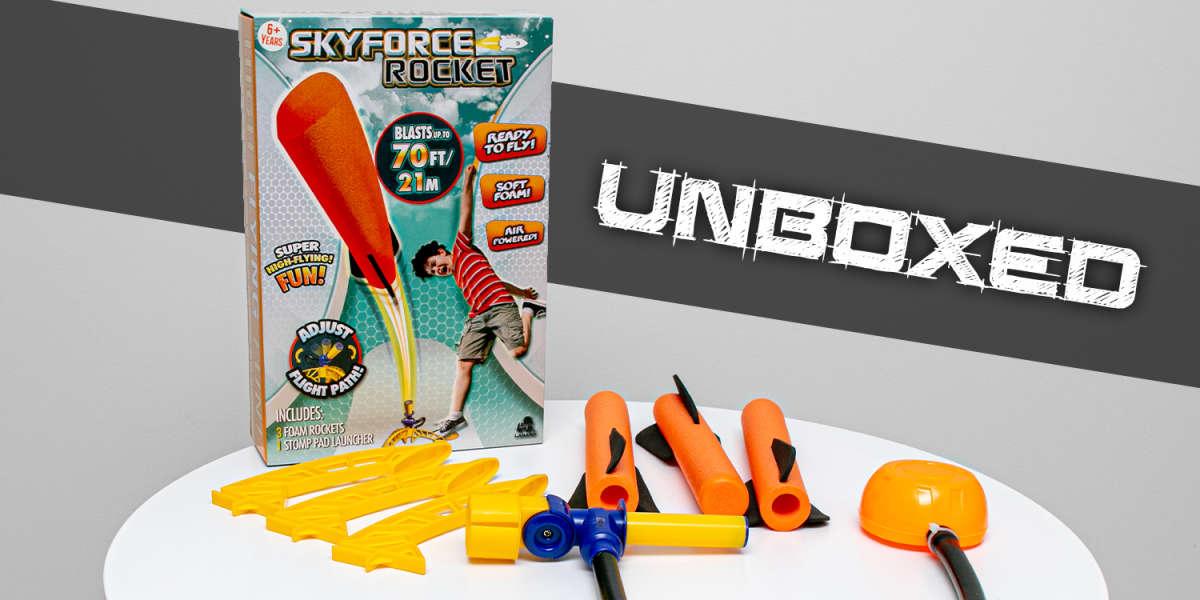 Skyforce Rocket Unboxed & Reviewed