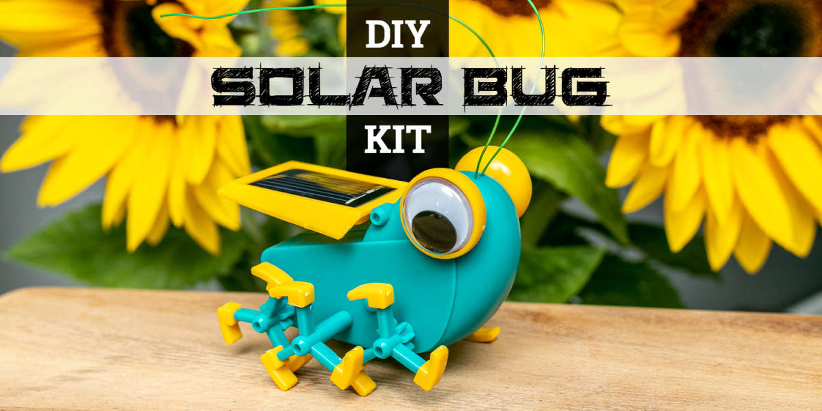Solar Bug DIY Kit by Green Energy